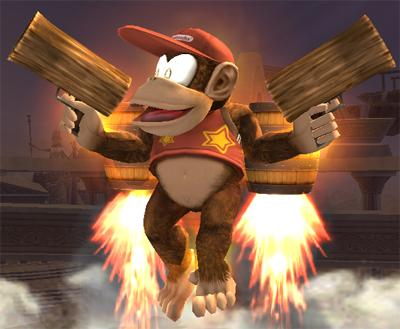 Image result for diddy kong gun