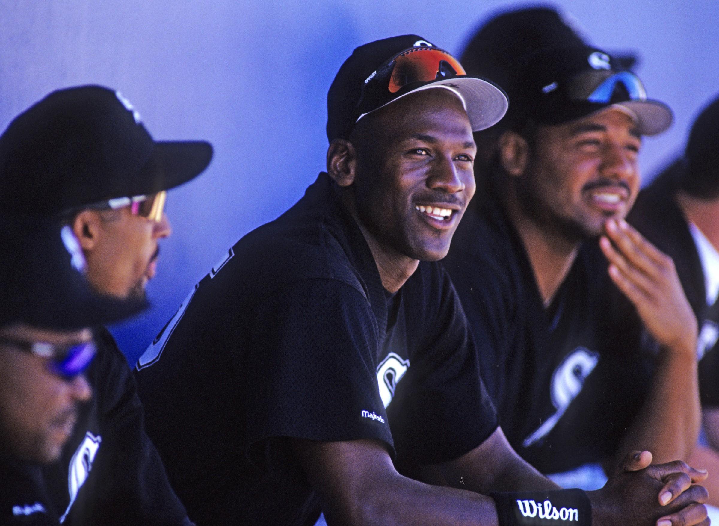 Michael Jordan, the Chicago White Sox Right Fielder | by Chicago White Sox  | Inside the White Sox